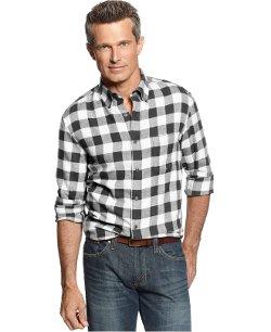 John Ashford -  Long Sleeve Buffalo Check Flannel Shirt