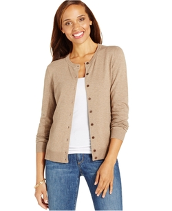 Karen Scott - Button-Down Cardigan