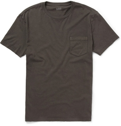 J.Crew  - Pocket-Front Slim-Fit Cotton T-Shirt