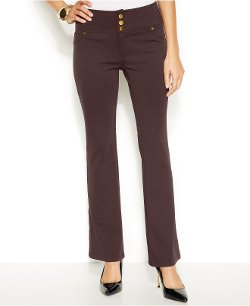 Thalia Sodi  - Bootcut Three-Button Ponte Pants