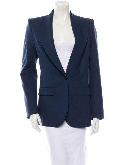 The Row - Notch Collar Wool Blazer