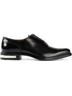 Givenchy - Metallic Heel Oxford Shoes