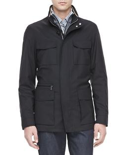 Ermenegildo Zegna  - Elements Trofeo-Wool Field Jacket