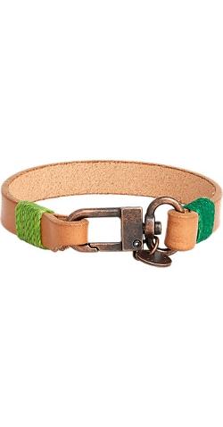 Caputo & Co - Cord-Wrapped Leather Bracelet