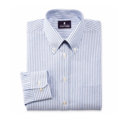 Stafford - Travel Wrinkle-Free Oxford Dress Shirt
