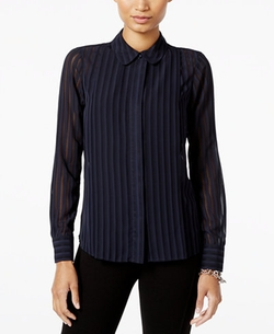 Tommy Hilfiger - Shadow-Stripe Shirt