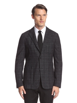 Z Zegna - Large Check Notch Lapel Sportcoat