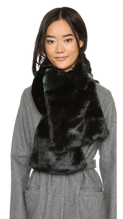 Kate Spade New York - Faux Fur Stole Scarf