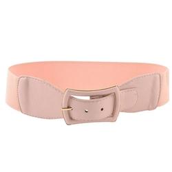 Allegra K - Faux Leather Buckle Waist Belt