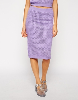 Asos Co-Ord - Crochet Pencil Skirt