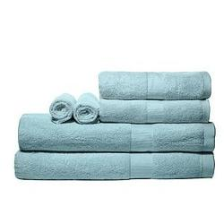 Pure Fiber - Viscose Derived from Bamboo 6-Piece Bath Towel Set