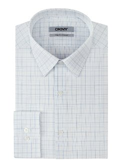 DKNY - Grid Plaid Dress Shirt