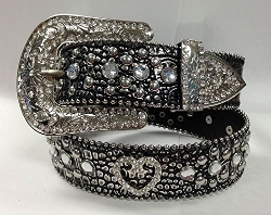 Deal Fashionista - Bling Studded Removable Buckle Belt