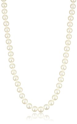 Radiance Pearls - White Freshwater Cultured Pearl Necklace