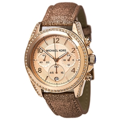 Michael Kors - Swarovski Crystal Rose Chronograph Watch