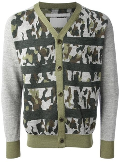 White Mountaineering - Camouflage Cardigan