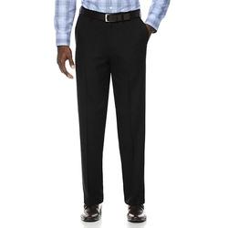 Savane  - Herringbone Flat-Front Dress Pants