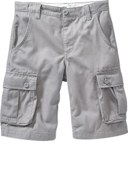 Old Navy - Boys Twill Cargo Shorts