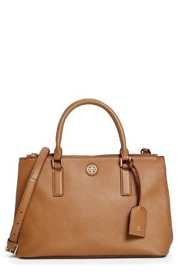 Tory Burch - Mini Robinson Double Zip Tote Bag