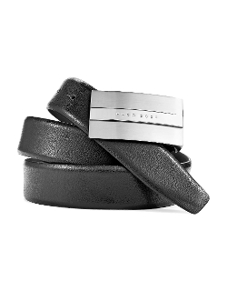 Hugo Boss - Leather Placket Buckle Belt