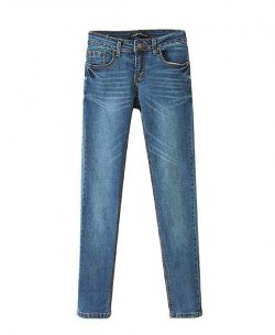 ChicNova - Water Scrubbing Mill Denim Jeans