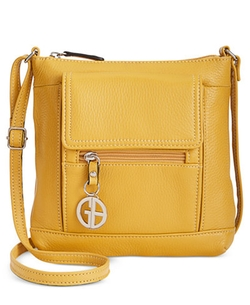 Giani Bernini  - Pebble Mini Leather Crossbody Handbag