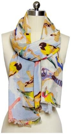 Saachi - Flying Birds Scarf