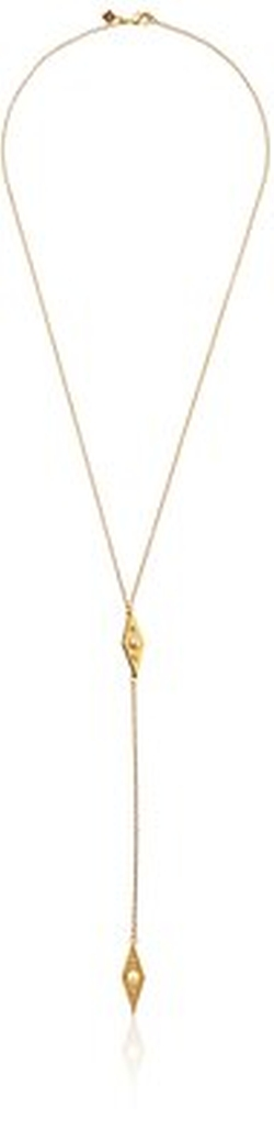 Rebecca Minkoff  - Y-Shape Pendant Necklace