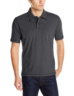 Alex Cannon - Short Sleeve Solid Polo Shirt