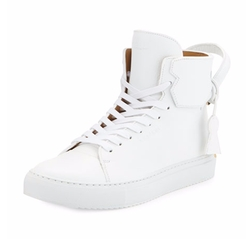Buscemi - 125mm High-Top Leather Sneaker