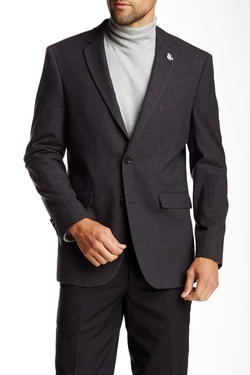 US Polo Assn. - Gray Modern Fit Two-Button Notch Collar Double Vent Sport Coat