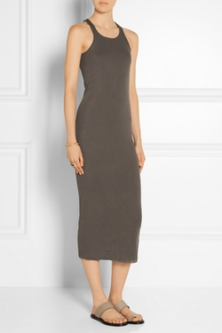 Rick Owens - Cotton-Jersey Midi Dress