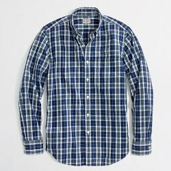 J. Crew - Factory Washed Shirt In Medium Plaid