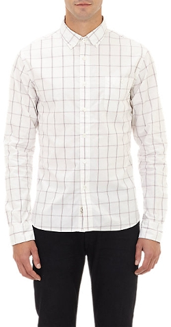 Todd Snyder - Windowpane Check Shirt