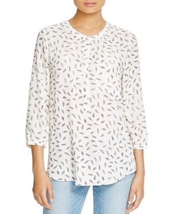 Nydj - Feather Print Blouse