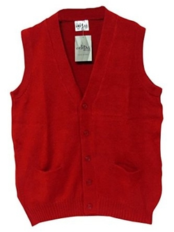 Celitas Design - Vest Alpaca and Blend V Neck Vest