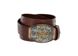 Belts.Com - Western Tooled Leather Belt
