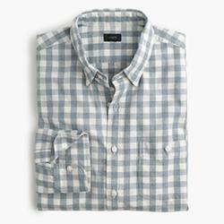 J.Crew - Slim Jaspé Cotton Shirt In Gingham