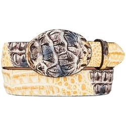 King Exotic - Hornback Skin Western Style Belt