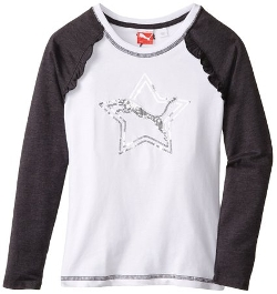 Puma - Sequined Raglan T-Shirt