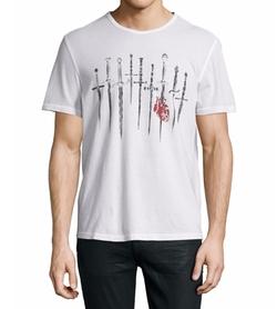 John Varvatos Star USA  - Daggers Graphic Short-Sleeve T-Shirt
