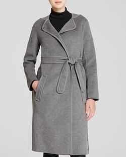 Vince - Belted Wrap Coat