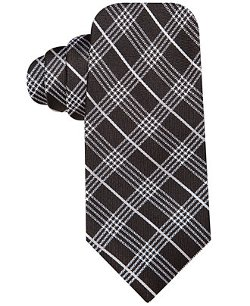 Ryan Seacrest Distinction  - Prime Time Plaid Slim Tie