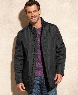 T Tech by Tumi Jacket - Microtech Bonded Water-Resistant Performance Jacket
