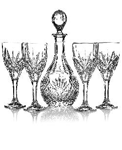 Godinger  - Stemware, Wine Glasses and Decanter