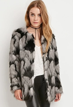 Forever21 - Shaggy Faux Fur Coat