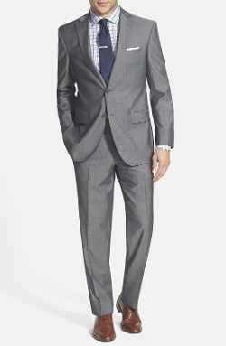 David Donahue  - Classic Fit Wool Suit