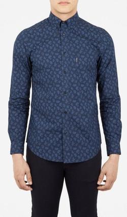 Ben Sherman - Paisley Long Sleeve Shirt
