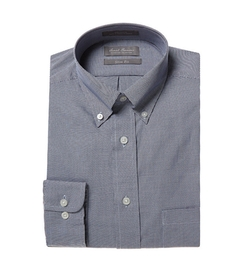 Daniel Cremieux - Signature Long-Sleeve Slim-Fit Microcheck Woven Shirt