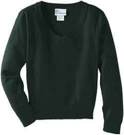Classroom  - Boys Uniform 8-20 Unisex Long Sleeve V-Neck